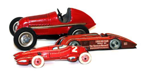 Collectable Vintage Tinplate Cars & Toys, Cabinet Lots