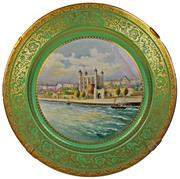 Sale 8332 - Lot 74 - Minton The Tower of London Plate