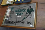 Sale 7987A - Lot 1358 - 1992 Randwick Rugby Premiership Mirror