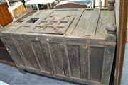 Sale 8013 - Lot 1209 - Antique Himalayan Dowry Trunk