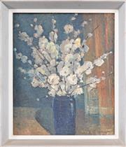 Sale 8162A - Lot 516 - George Feather Lawrence (1901 - 1981) - Peach Blossoms, 1943 45 x 37cm