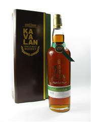 Sale 8329 - Lot 548 - 1x Kavalan Solist Amontillado Sherry Single Cask Strength Single Malt Taiwanese Whisky - Worlds Best Single Cask Single Malt Whis.