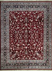 Sale 8360C - Lot 8 - Indo Persian Kashan 250cm x 300cm