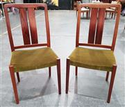 Sale 8942 - Lot 1005 - Set of Six Danish Rosewood Dining Chairs