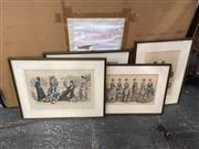 Sale 9087 - Lot 2074 - A Group of Six C19th