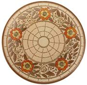 Sale 8342B - Lot 4 - Charlotte Rhead Floral Charger