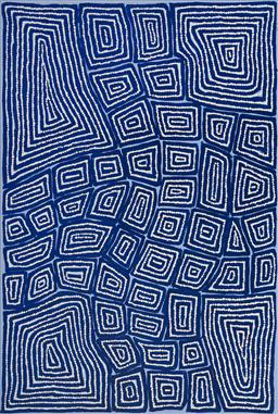 Sale 9148A - Lot 5061 - THOMAS TJAPALTJARRI (c1964 - ) Tingari, 2012 acrylic on canvas 90 x 60 cm (stretched and ready to hang) certificate of authenticity