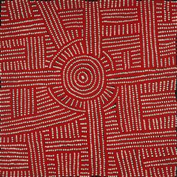 Sale 9148A - Lot 5092 - BAMBATU NAPANGARDI (c1940 - ) My Country acrylic on linen 60 x 60 cm (stretched and ready to hang) signed verso, certficate of authe...