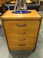 Sale 8643 - Lot 1105 - 4 Drawer William Lawrence Chest