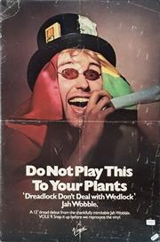 Sale 8707 - Lot 2064 - Vintage DO NOT PLAY THIS TO YOUR PLANTS Poster -