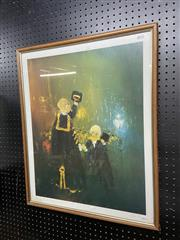 Sale 8910 - Lot 2006 - David Boyd - Untitled (Judges) photolithograph ed 32/150, signed and dated 1988
