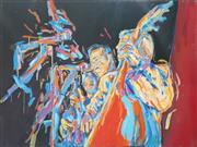 Sale 8941 - Lot 2040 - Artist Unknown - Music To My Eyes, canvas, 90 x 120cm