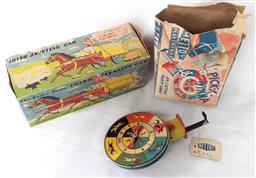 Sale 9142A - Lot 5111 - Vintage c1960s Toys with original boxes: Irish Jaunting car and Mettoy Pick-a-Winna Horse Race Sparklet, with original box