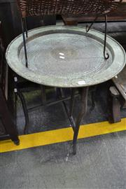 Sale 8013 - Lot 1204 - Brass Tray Table