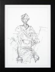 Sale 8716 - Lot 2037 - Alberto Giacometti (1901 - 1966) - Annette in Studio, 1961 35.5 x 25cm
