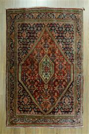 Sale 8585C - Lot 84 - Antique Persian Hamadan 130cm x 110cm