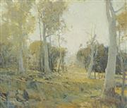 Sale 8722 - Lot 601 - Glen Preece (1957 - ) - A Quiet Landscape 51 x 61cm