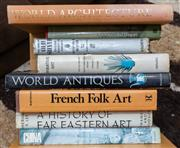 Sale 8746 - Lot 1060 - Books on art, architecture and antiques including French folk art including book stand