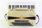 Sale 8940 - Lot 21 - A Challenge Piano Accordian In Case