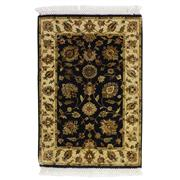 Sale 8911C - Lot 78 - Indian Extremely Fine Jaipur Woven Classic Rug, 91x65cm, Silk & Wool Inlaid