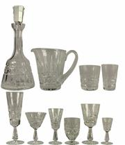 Sale 8057 - Lot 100 - Waterford Crystal Kylemore Drinks Suite