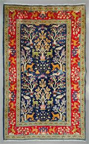 Sale 8539C - Lot 61 - Vintage Persian kashan 225cm x 140cm