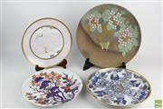 Sale 8546 - Lot 140 - Large Chinese Charger Collection (2 With Stands)