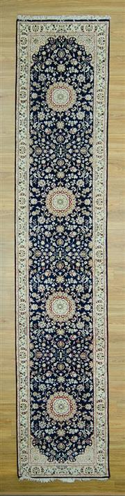 Sale 8585C - Lot 85 - Indo Persian Nain 400cm x 81cm