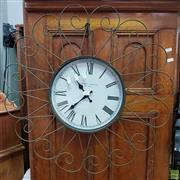 Sale 8611 - Lot 1071 - Reproduction Wall Clock