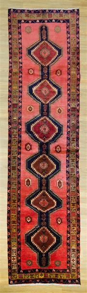 Sale 8585C - Lot 86 - Persian Hamadan 385cm x 105cm