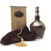 Sale 8842 - Lot 560 - 1x Chivas Brothers 21YO Royal Salute - The Ruby Flagon Blended Scotch Whisky - 40% ABV, 700ml in presentation box