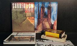 Sale 9208 - Lot 2013 - Collection of Art Books incl. Hiroshige the Fifty-Three Stages of the Tokaido; Penrose R. Miro; Rachewiltz, B. de An Introducti...