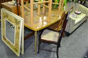 Sale 7987A - Lot 1258 - Retro Kitchen Table And Two Chairs