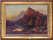 Sale 8015A - Lot 43 - ARTIST UNKNOWN - Scottish Highland Landscape