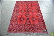Sale 8302 - Lot 1052 - Afghan Hand Knotted Woolen Rug (190 x 125cm)