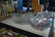 Sale 8405 - Lot 2294 - Large Collection of Coloured Glasswares