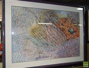 Sale 8509 - Lot 2040 - Annie Errey - Untitled, 1987, pastel on paper, 99 x 135cm, signed lower right