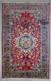Sale 8539C - Lot 63 - Vintage Persian Kashan 340cm x 220cm