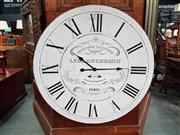 Sale 8676 - Lot 1063 - Large Wall Mount Clock