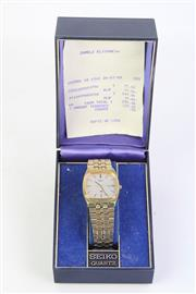 Sale 8815 - Lot 79 - A Cased Seiko Mens Wristwatch ( Sold as found)