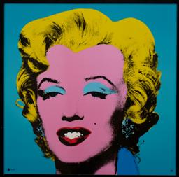 Sale 9150J - Lot 100 - ANDY WARHOL (1928 - 1987) Marilyn screenprint on glazed ceramic, ed. 16/49 49 x 49 cm signed lower right. Rosenthal Certificate of a...