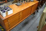 Sale 8066 - Lot 1063 - Unusual Early 1960s Younger Sideboard