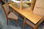 Sale 8093 - Lot 1144 - Vintage Chiswell Table w 4 Chairs