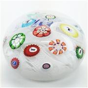 Sale 8292 - Lot 8 - Baccarat Spaced Concentric Complex Millefiori Paperweight