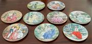 Sale 8338A - Lot 55 - A group of nine Royal Doulton collectors plates by Neil Faulkner, 1991