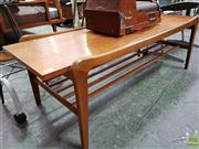 Sale 8566 - Lot 1048 - Teak Coffee Table by Heals of London