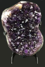 Sale 8567 - Lot 662 - Amethyst on stand, Brazil