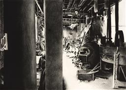 Sale 9256A - Lot 5014 - HERTHA KLUGE POTT (1934 - ) Industrial Work Shop etching, ed. 17/30 (mounted/unframed) 76 x 101.5 cm signed lower right
