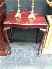 Sale 7972A - Lot 1015 - Queen Anne Style Hall Table