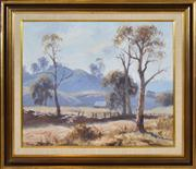 Sale 8374 - Lot 507 - Leon Hanson (1918 - ) - Autumn Light 44.5 x 54.5cm